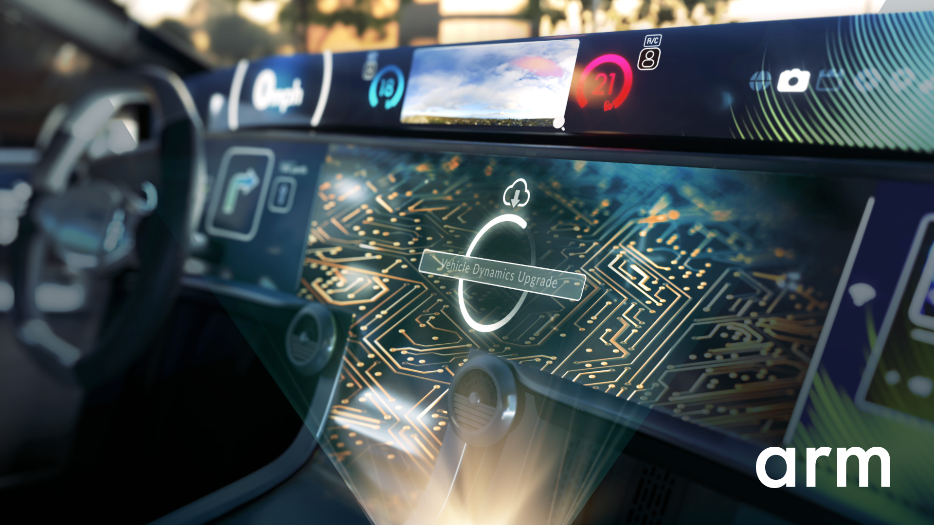 横扫智能手机领域的ARM架构,开始进军汽车业