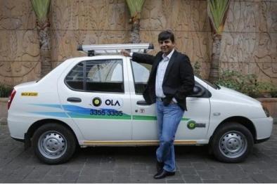 印度打车应用Ola融资3.14亿美元