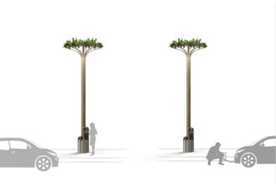 电动汽车的春天:德国公司把路灯变成充电桩