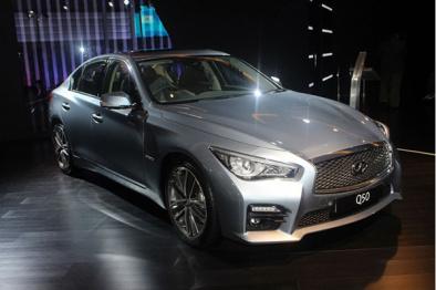 英菲尼迪首款电动概念车明年1月亮相