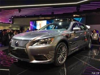 2018CES:雷克萨斯自动驾驶车正式亮相