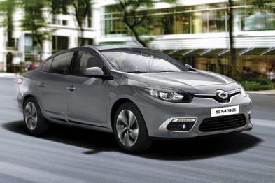 雷诺三星发布新款纯电动轿车SM3 Z.E
