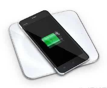 vivo手机无线充电示意图