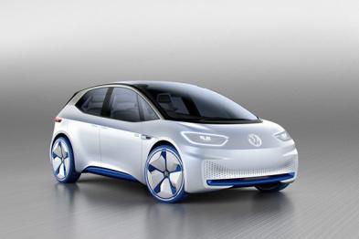 大众I.D.纯电动自动驾驶概念车巴黎车展首发