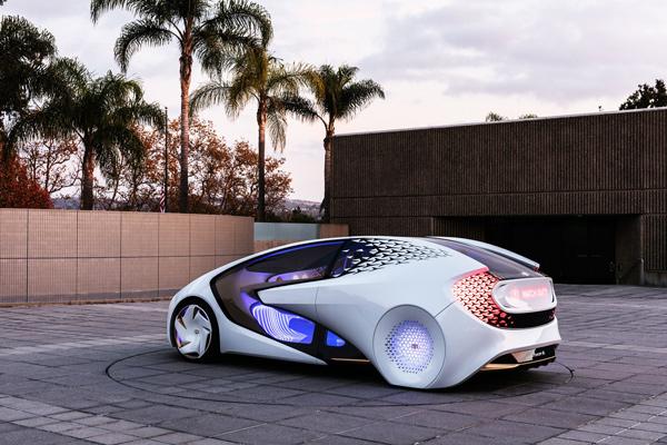 丰田concept-i自动驾驶概念车