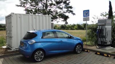 雷诺在欧洲试点使用二手电池提供充电服务