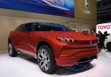WEY首秀法兰克福车展,计划2021年进军北美市场