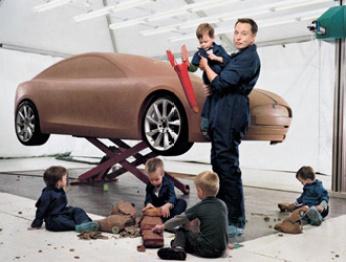 电动小子vs百年车企,Tesla