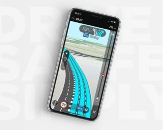 TomTom GO Navigation提供实时导航服务
