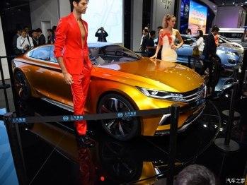 酷炫的未来设计,荣威Vision-R概念车首次亮相