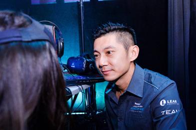 除了是大众情人,董荷斌还是捷豹路虎电气化工程师
