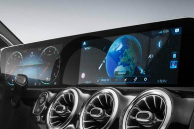 奔驰新A级2月2日发布,配10.25吋液晶屏