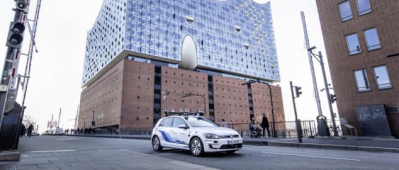 大众首次在真实驾驶条件下测试自动驾驶汽车