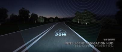 華人運通全球首發可編程智能交互大燈