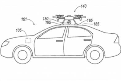 福特获批新专利:用无人机替代故障传感器,引领汽车前往维修中心