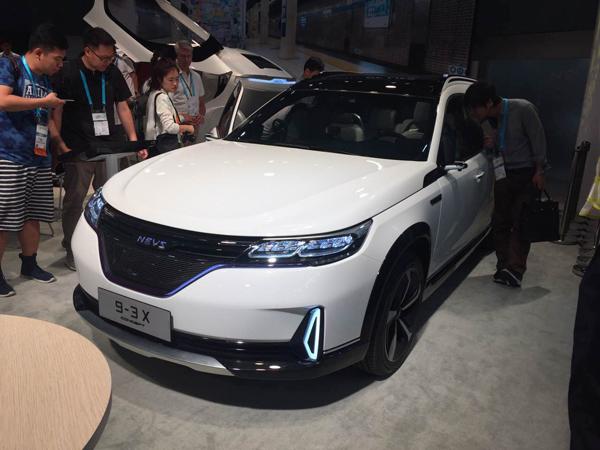 NEVS 9-3X纯电动SUV量产概念车