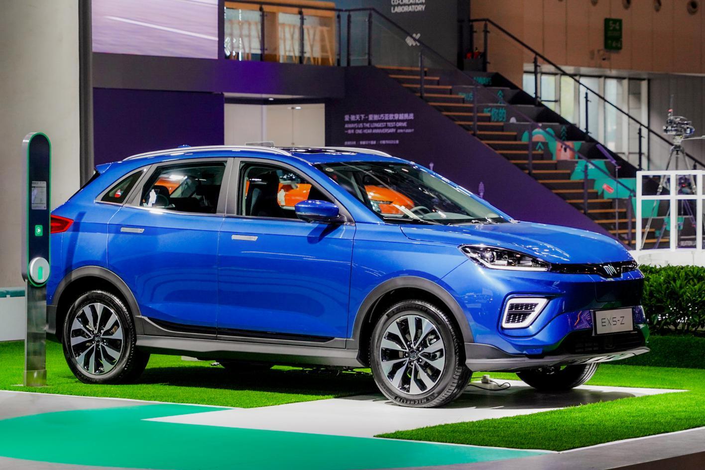 零接触智能交互纯电SUV——威马EX5-Z