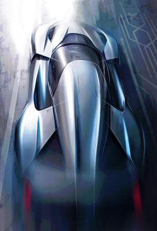 蔚来汽车首款纯电动超跑设计图