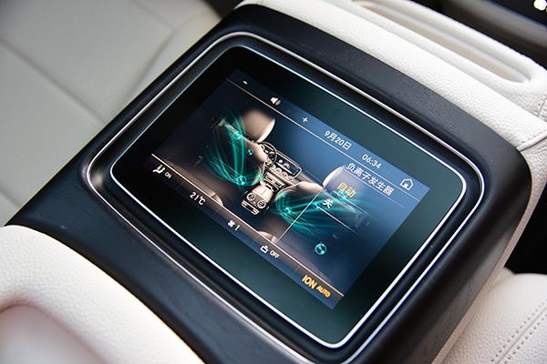后排中央触控屏,该配置也将后续推出