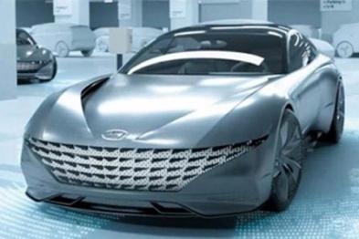 现代汽车展示电动车自动泊车/充电系统