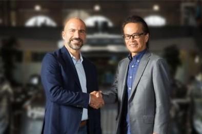 丰田向Uber投资5亿美元:共同发展无人驾驶网约车