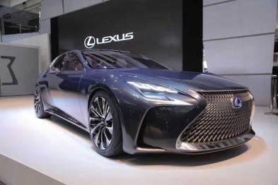 雷克萨斯确认LF-FC燃料电池车2020年前量产