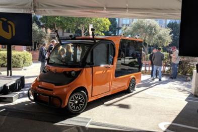 Udelv自动驾驶货车在加州公共道路测试