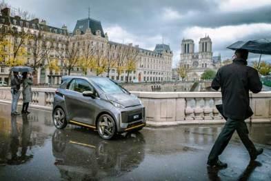 车和家首款车型SEV发布官图,即将在巴黎和旧金山开启共享服务