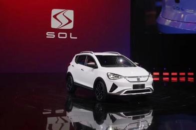 江淮大众首款纯电SUV思皓E20X亮相,三季度正式上市