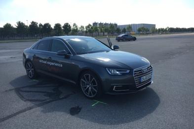 VR和汽车在一起可以玩什么?来看看奥迪成型的脑洞