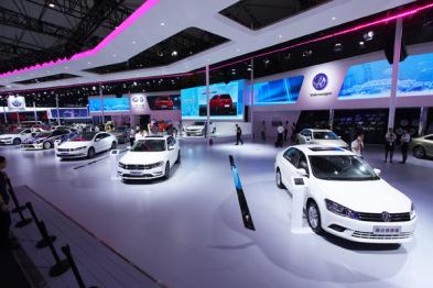 速腾家族首次亮相 一汽-大众携全系车型震撼登陆成都车展