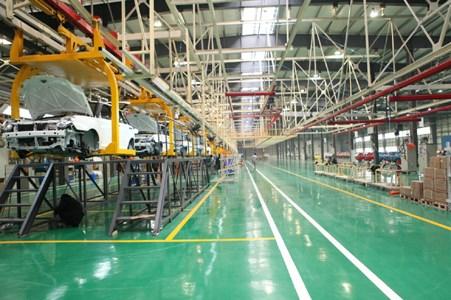力帆新能源汽车工厂