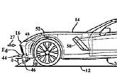 通用中置发动机Corvette获主动空气动力专利