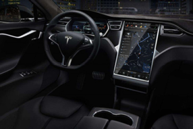 曝特斯拉L5自动驾驶模式界面工程图