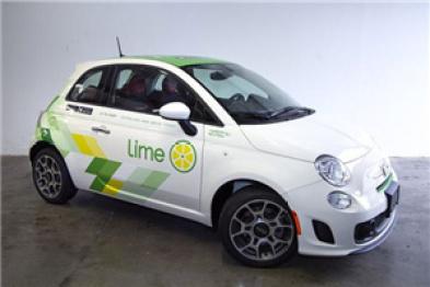 共享出行創企Lime推共享汽車服務:明年初投放1500輛