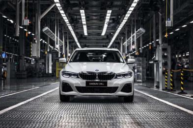 全新BMW 3系在华晨宝马铁西工厂正式投产