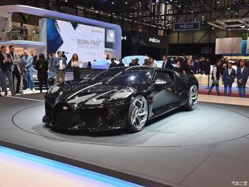 布加迪考虑推出纯电动车型