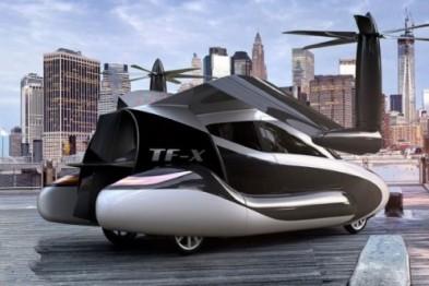 中国首届飞行汽车论坛在杭举行,吉利太力飞车10月预售