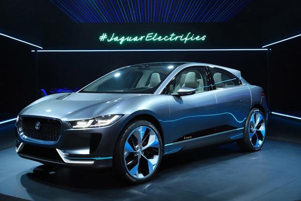 捷豹首款纯电动概念SUV——I-PACE