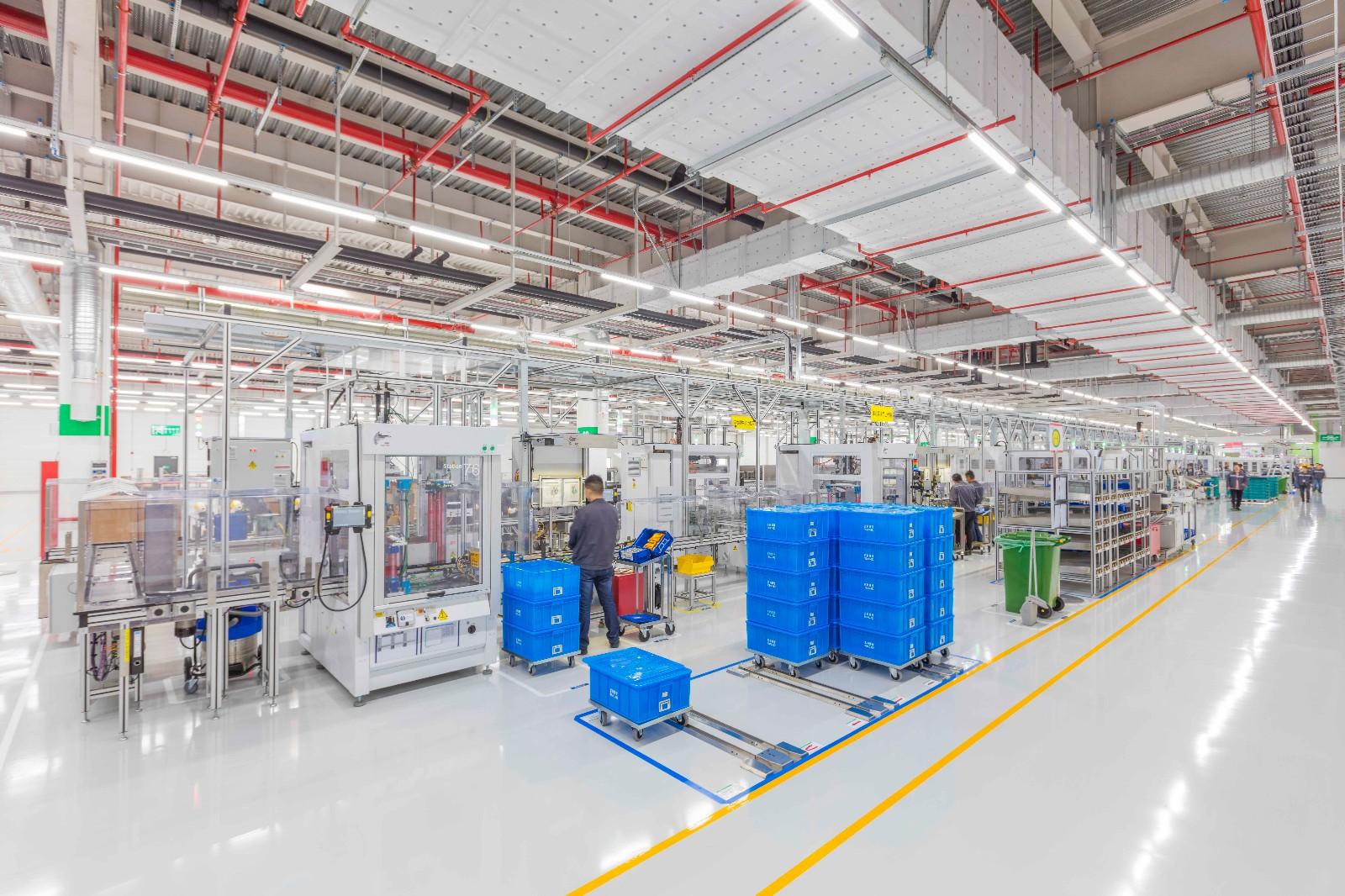 南京智能助力器生产基地依照工业4.0标准设计