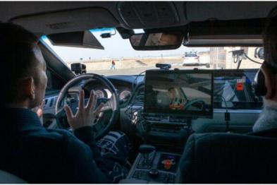 SK电讯测试自动驾驶汽车5G实时通信
