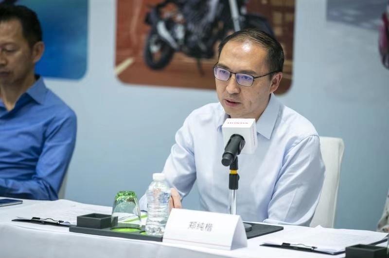 东风本田汽车有限公司执行副总经理郑纯楷