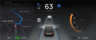 特斯拉Autopilot软件升级,提升全速自动紧急制动功能