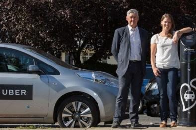 Uber与日产在伦敦部署100部电动汽车,使用专线充电网络