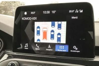 福特合作沃达丰测试网联汽车技术