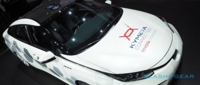 氢燃料电池车Mirai加装卫星连接技术,可以从太空收发路况信息了
