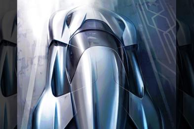 蔚来汽车纯电动超跑效果图首次曝光