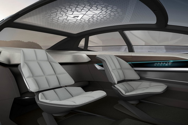 2017法兰克福车展:奥迪aicon概念车