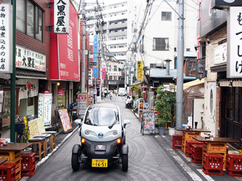 日产在日本推出超紧凑型电动汽车共享服务