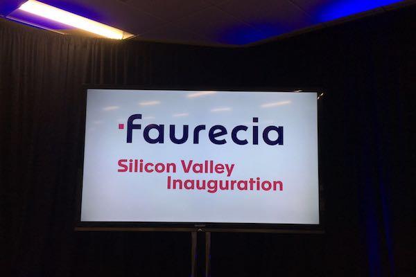 佛吉亚硅谷研发中心开幕式
